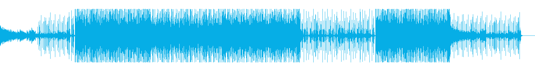 【パターン1-2】明るく元気なポップスの再生済みの波形