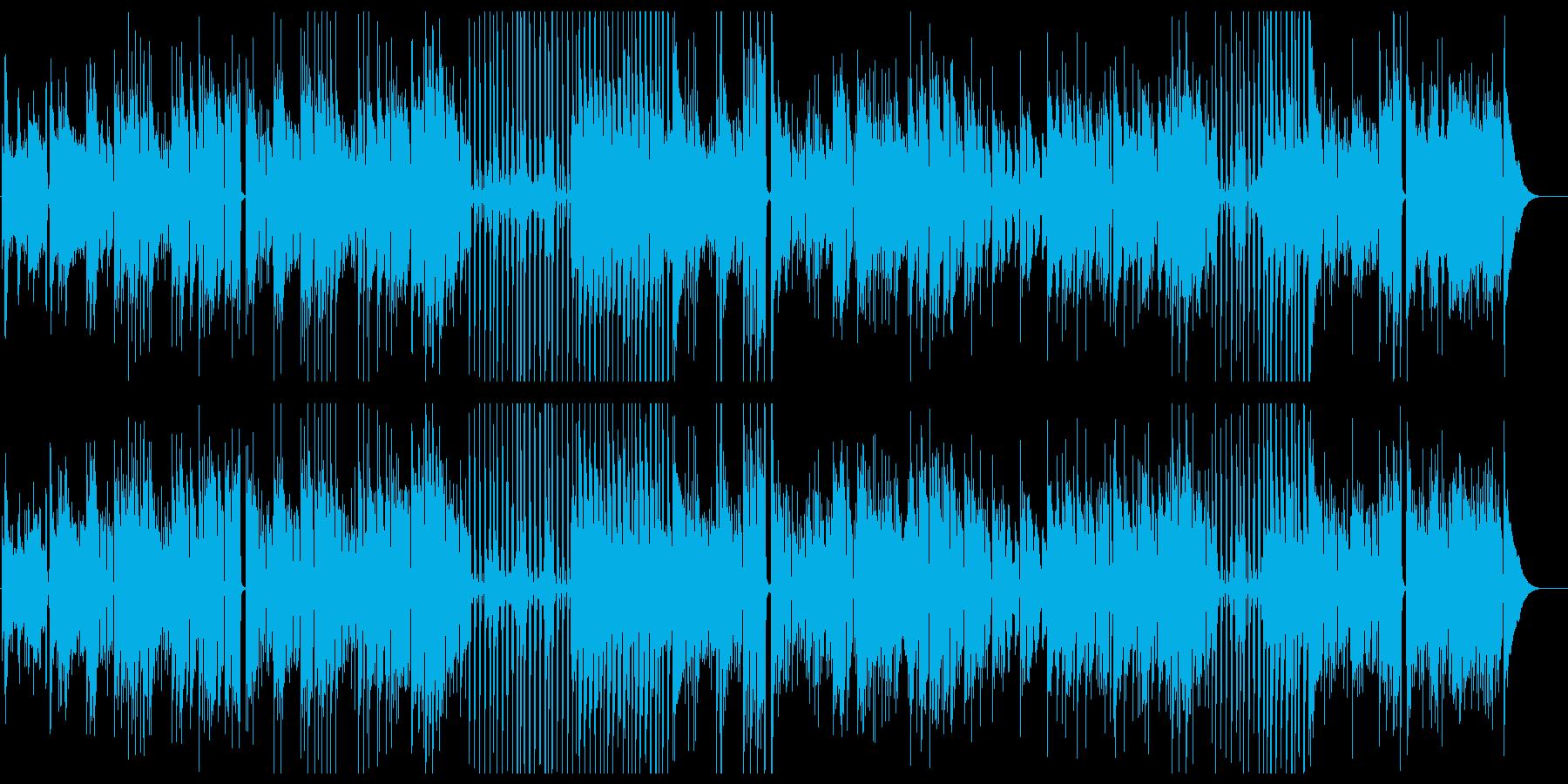 爽やかな風のふくアコギインストの再生済みの波形
