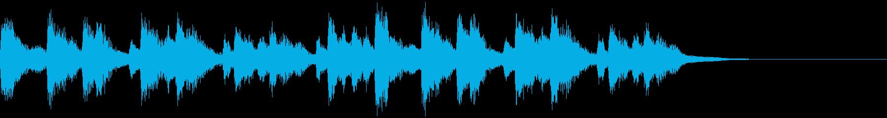 優しく壮大なストリングスのジングル・2の再生済みの波形