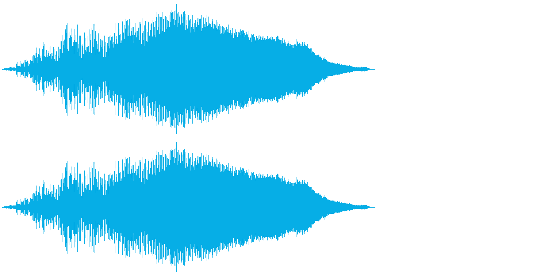 感情:怒る_ヒョーの再生済みの波形