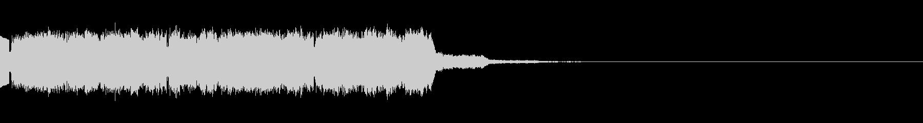 魔法詠唱音01(電子音)の未再生の波形