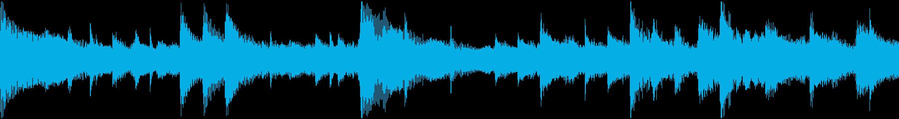 美しいピアノ、グロッケンシュピール...の再生済みの波形