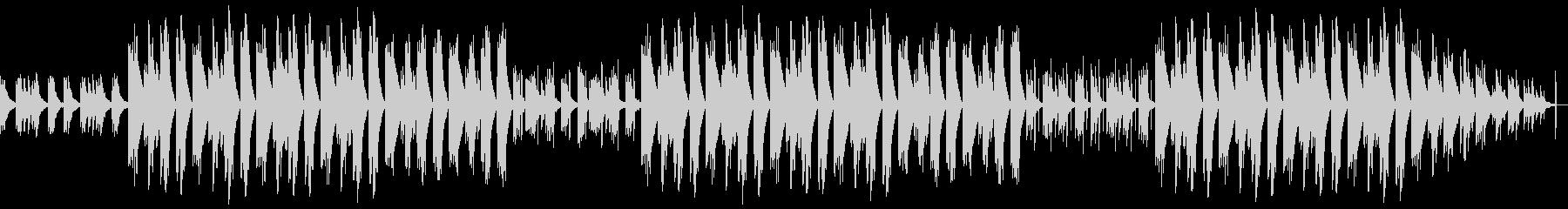 ゆったり眠くなるチルヒップホップBGMの未再生の波形