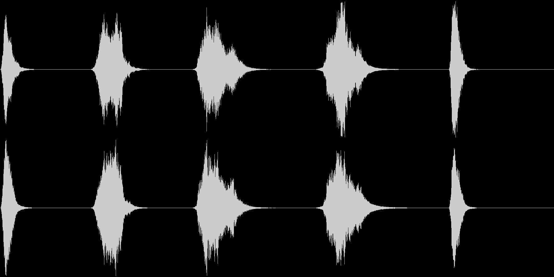ドライアイス;不気味なショートハイ...の未再生の波形