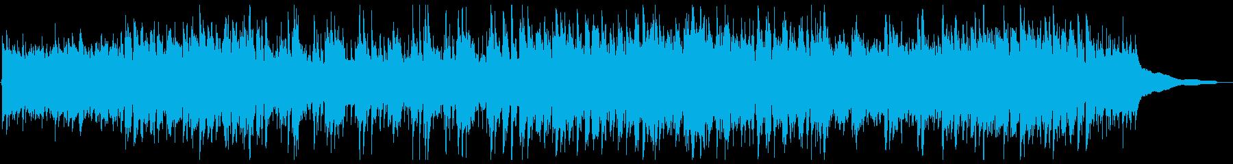 口笛とアコギがさわやかなカントリー系音楽の再生済みの波形