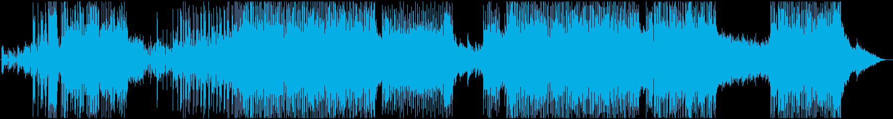 爽やかロック系のBGMですの再生済みの波形