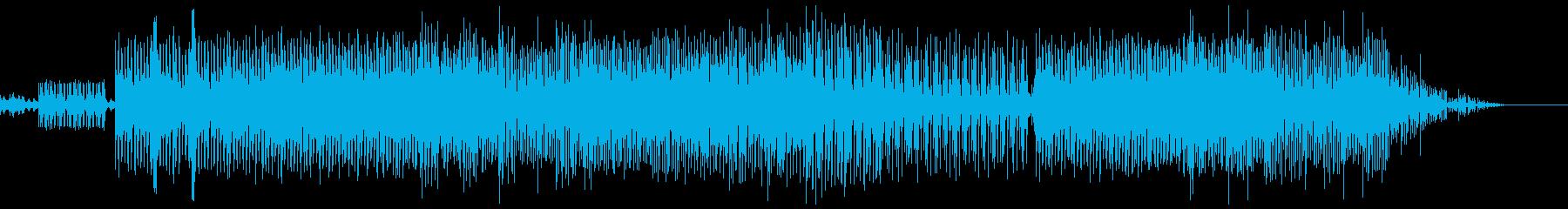 豊かで機械的な配信による催眠ポップ...の再生済みの波形