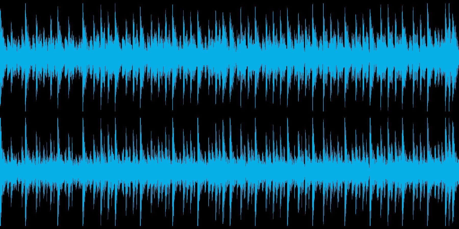 和太鼓(中太鼓)ソロ スローの再生済みの波形