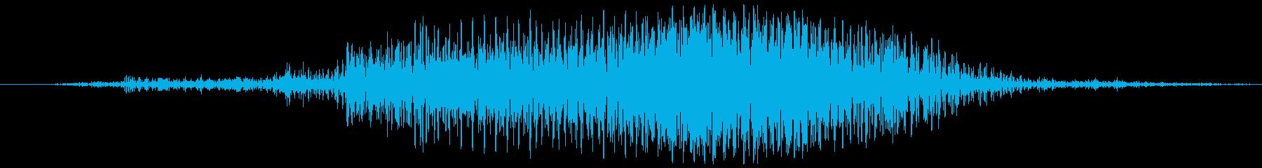 蛇口を捻る(キュッ)の再生済みの波形