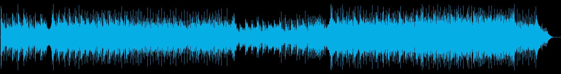 爽やか エレクトロ ポップ 4つ打ちの再生済みの波形