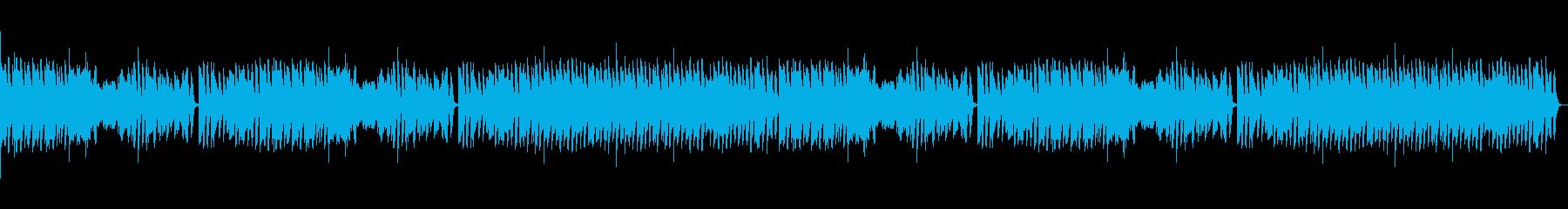 メイプルリーフラグ ピアノ(速いver)の再生済みの波形