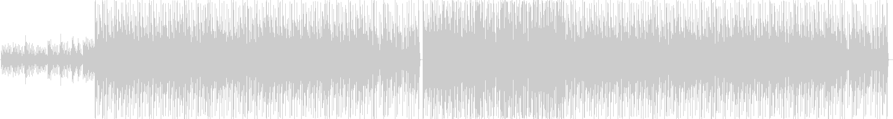 ブルース、反復的、シンプルなメロデ...の未再生の波形