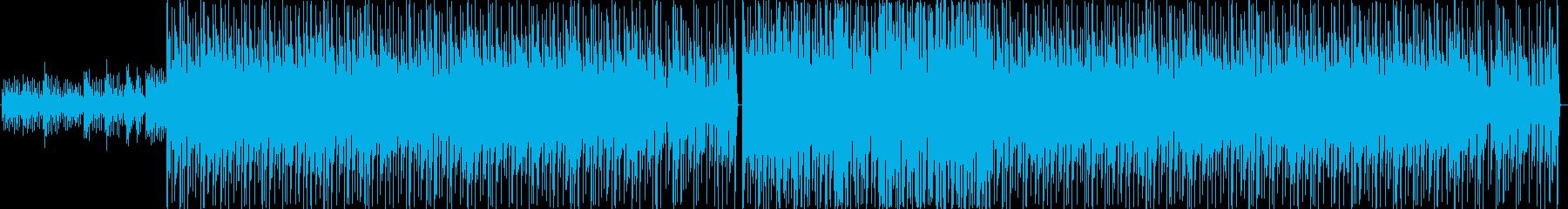 ブルース、反復的、シンプルなメロデ...の再生済みの波形