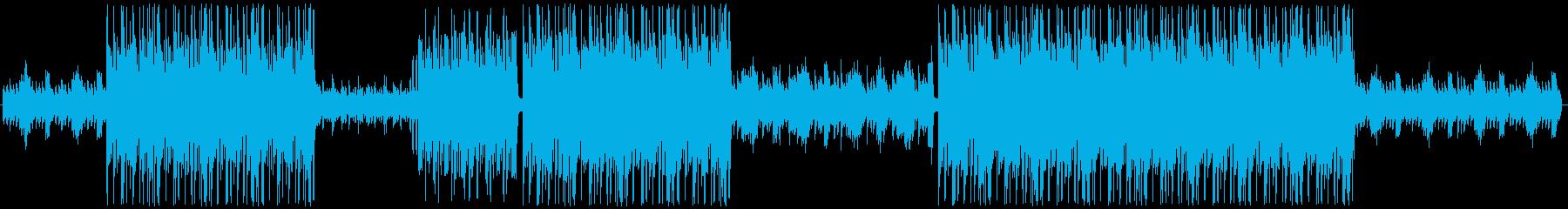 ピアノと和楽器を使った和風TRAPの再生済みの波形