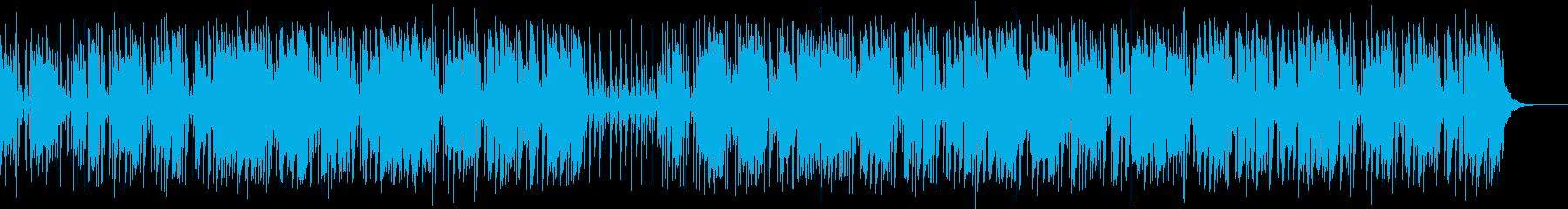 ブルージーな雰囲気の短いインストゥ...の再生済みの波形