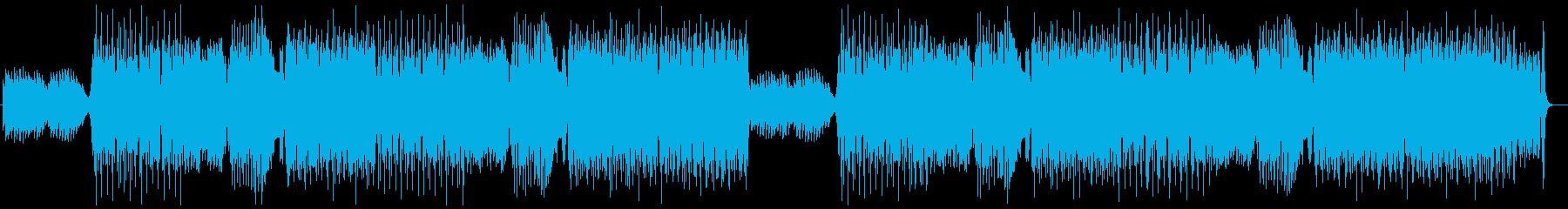 ハロウィン・軽快・コミカル・元気・ハウスの再生済みの波形