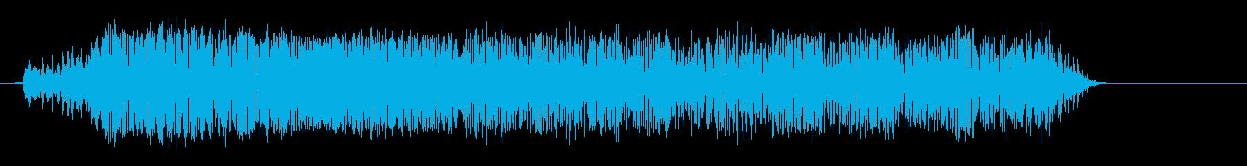 メーッ(羊の鳴き声)の再生済みの波形