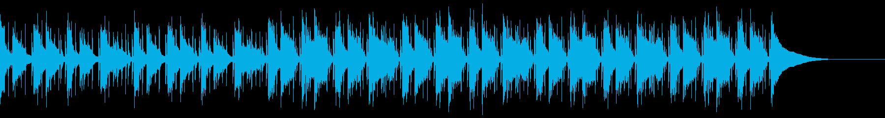 Pf「困惑」和風現代ジャズの再生済みの波形