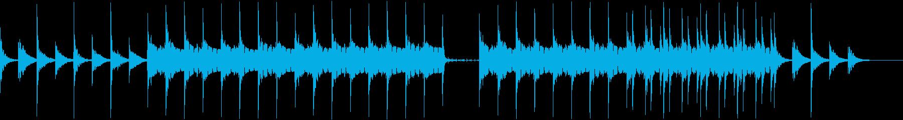 モダン テクノ アンビエント ほの...の再生済みの波形