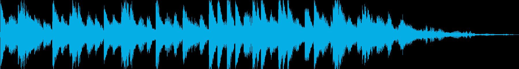 ソロのクラシックピアノ曲。テーマは...の再生済みの波形