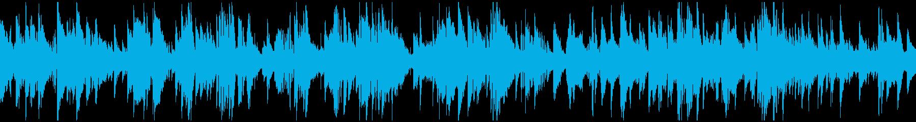 ハードボイルド渋いサックス ※ループ版の再生済みの波形