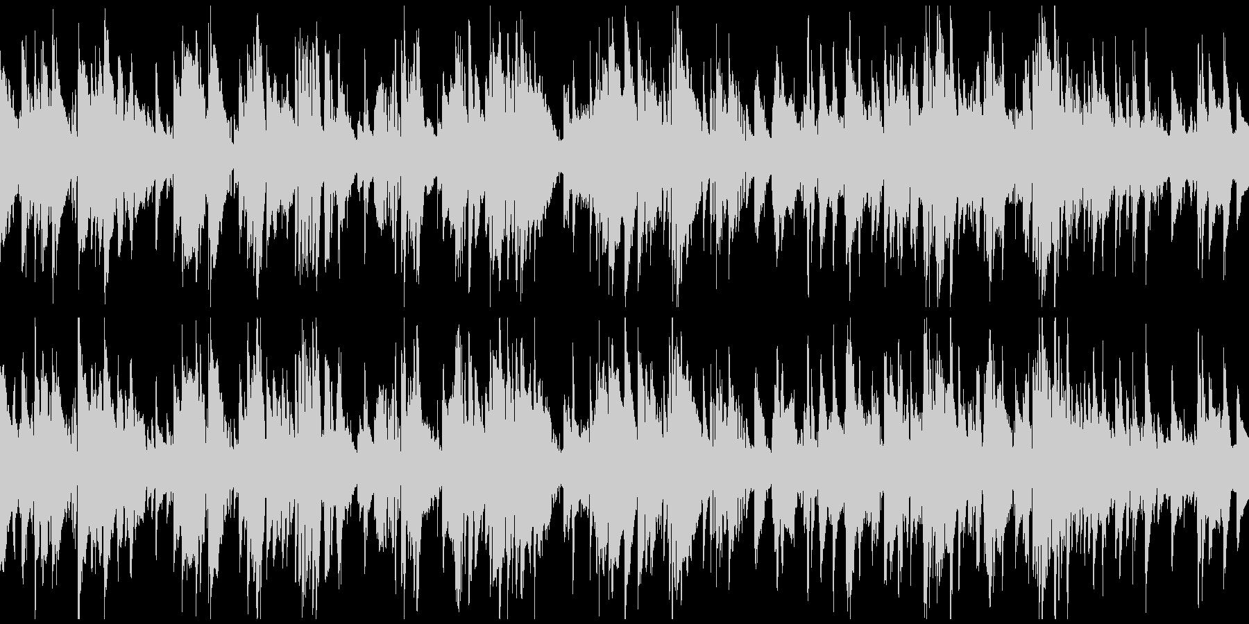 ハードボイルド渋いサックス ※ループ版の未再生の波形