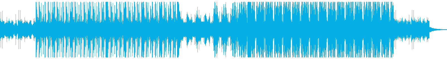色々なテーマ音に使えそうなBGMの再生済みの波形