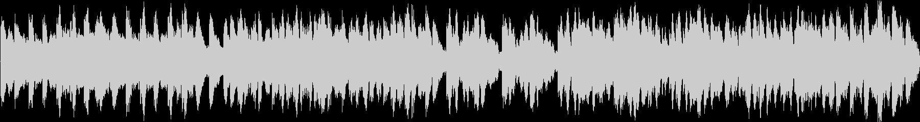 キラキラしたかわいいBGMの未再生の波形