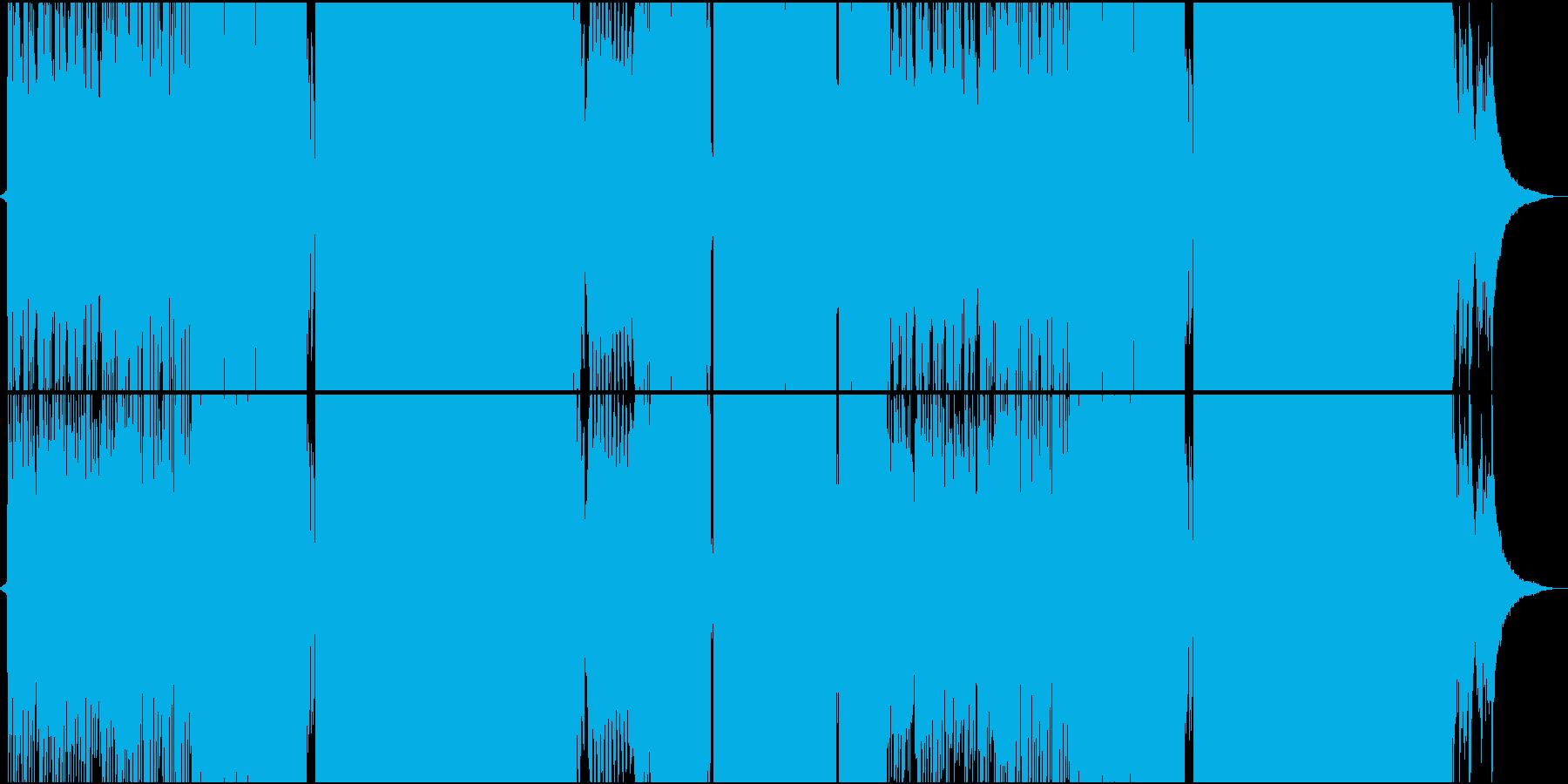 切ないピアノ中心のFutureBassの再生済みの波形