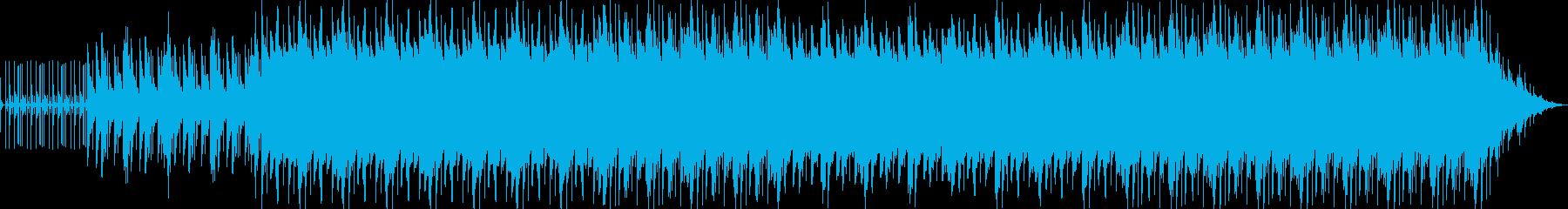 粛々と進むビートとピアノの残響の再生済みの波形