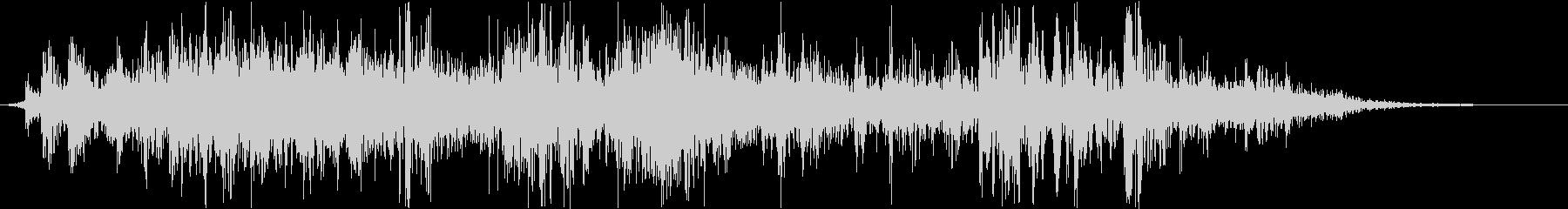 ヘビーウッドクランチミュートクラッシュの未再生の波形