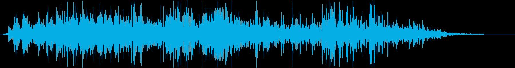 ヘビーウッドクランチミュートクラッシュの再生済みの波形