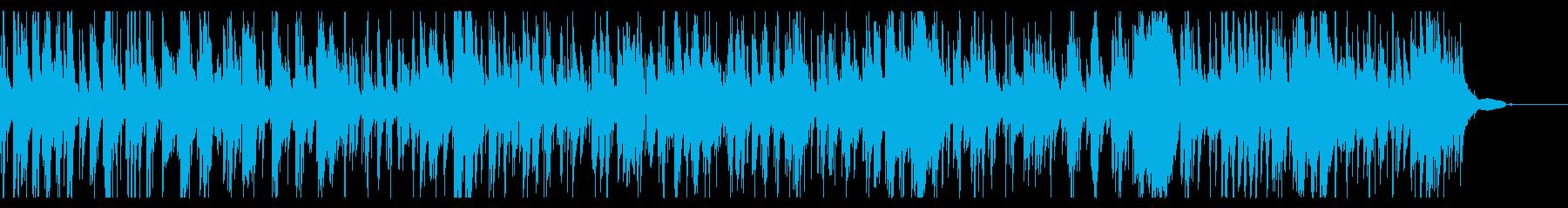 ラウンジのお洒落でムーディーなジャズの再生済みの波形