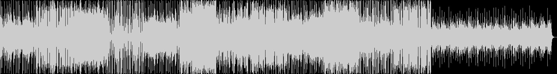 全体的に切ないメロディのポップスの未再生の波形