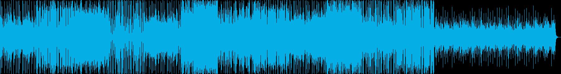 全体的に切ないメロディのポップスの再生済みの波形