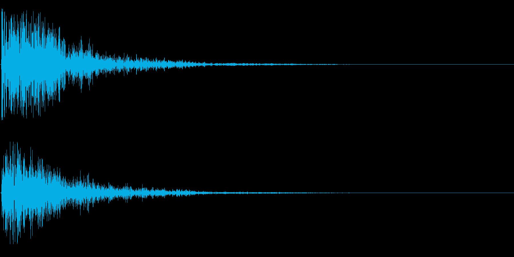 ゴォーンの再生済みの波形