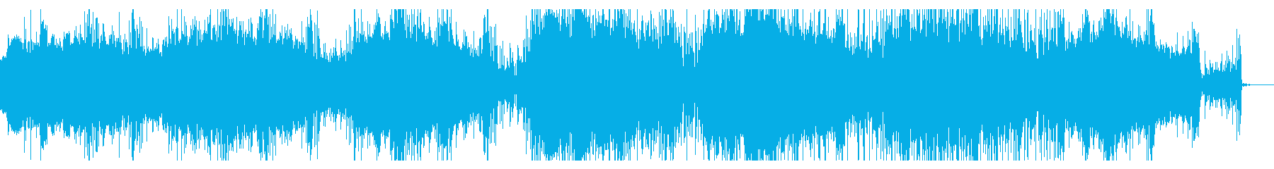 シンプルなインダストリアルの再生済みの波形