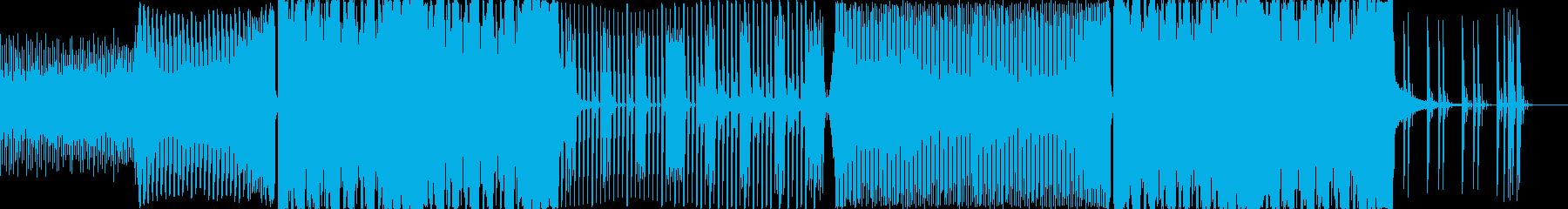 テンションの上がるEDMの再生済みの波形