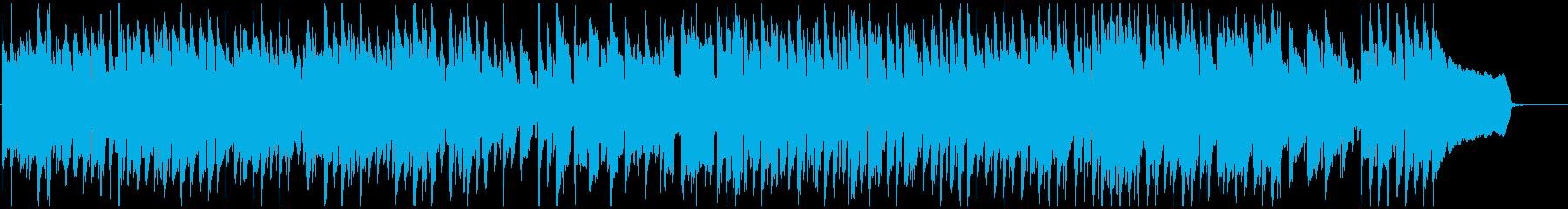 楽しい、嬉しい気分の日常系リコーダー曲の再生済みの波形