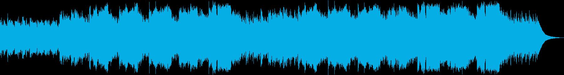 ノスタルジックなアコースティックケルトの再生済みの波形