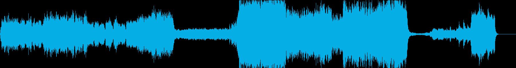 ノルウェーの結婚行進曲(オーケストラ)の再生済みの波形