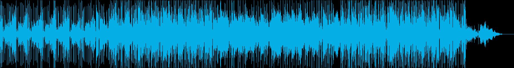 都会的でオシャレなポップスの再生済みの波形