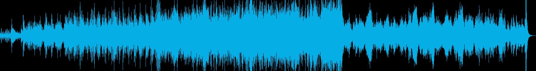 ワルツ 弦楽器とパーカッションで迫力の再生済みの波形