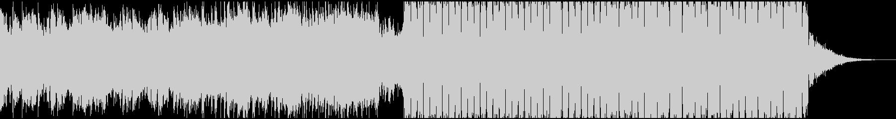 シンセのコードが特徴的な感動系EDMの未再生の波形