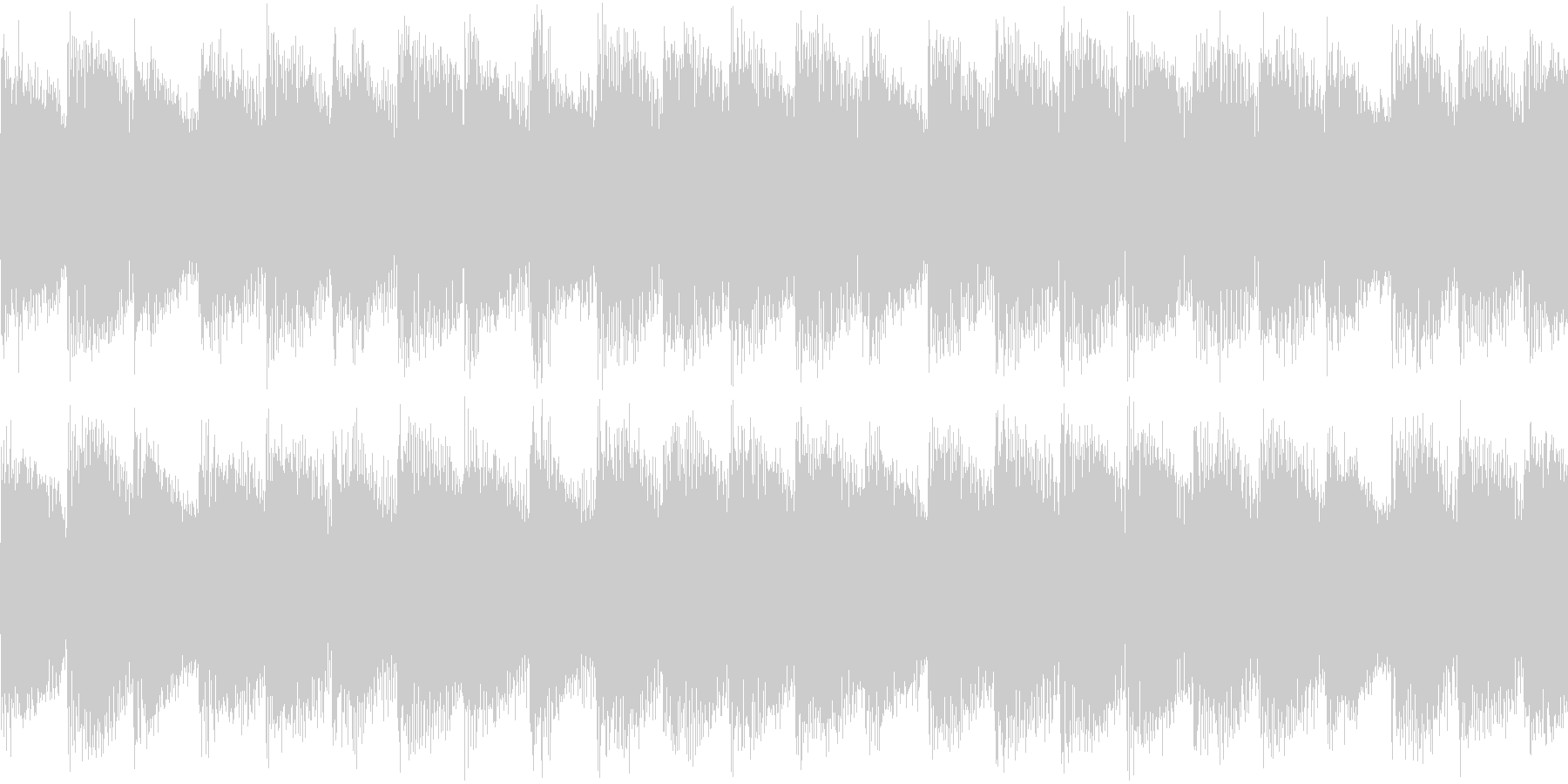 シンセ サイレン アナログ ピコピコ09の未再生の波形