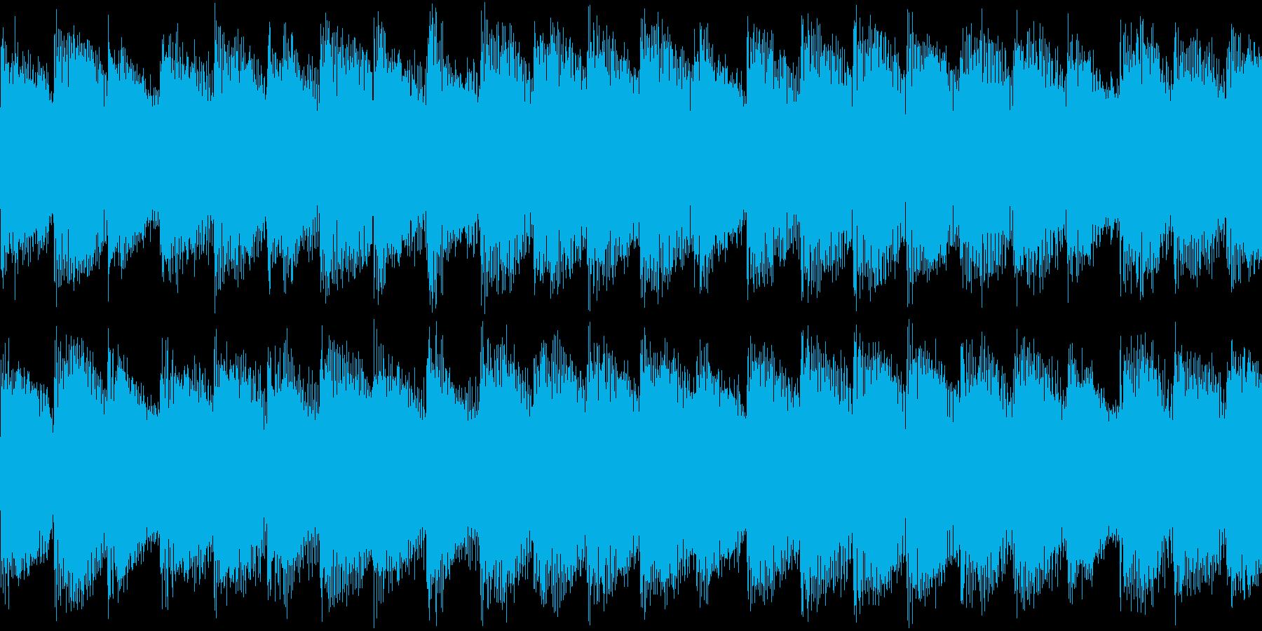 シンセ サイレン アナログ ピコピコ09の再生済みの波形