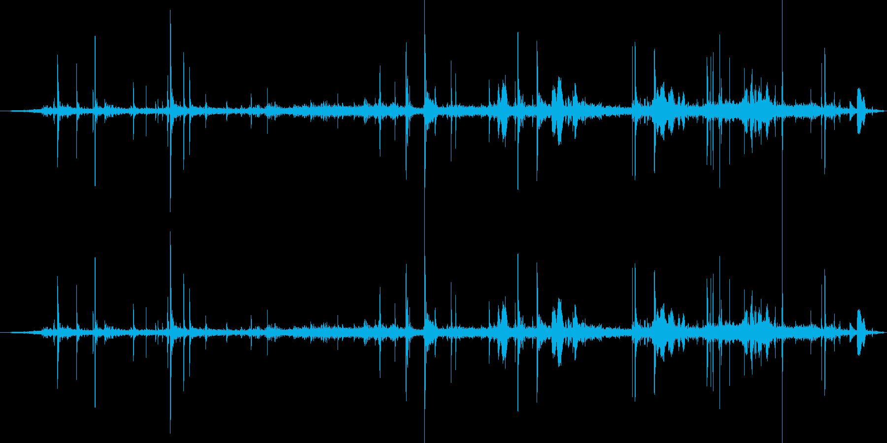 子供ベルベル1-00の再生済みの波形