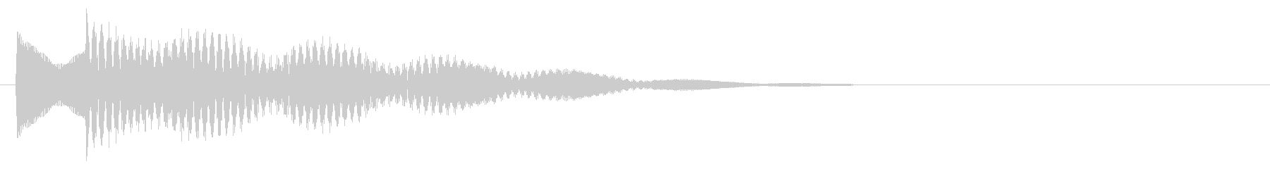 マレット系 キャンセル音5(小)の未再生の波形