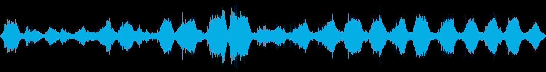 波の音 【大浜海岸、徳島、秋、夕方】の再生済みの波形