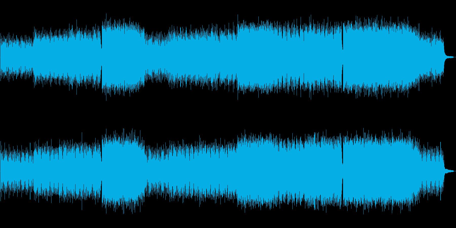 壮大で透明感のある生演奏バイオリン曲の再生済みの波形